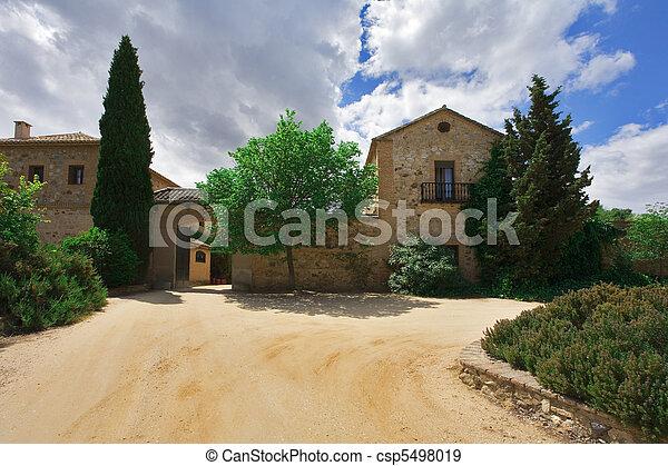 Cosy rural hotel - csp5498019