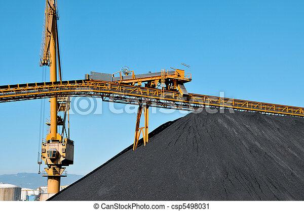 coal industry - csp5498031