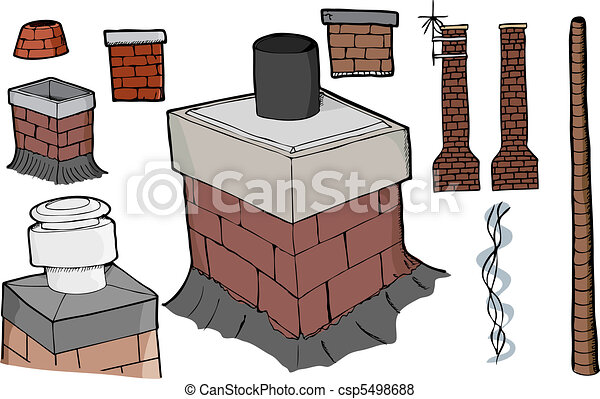 Chimney Set - csp5498688