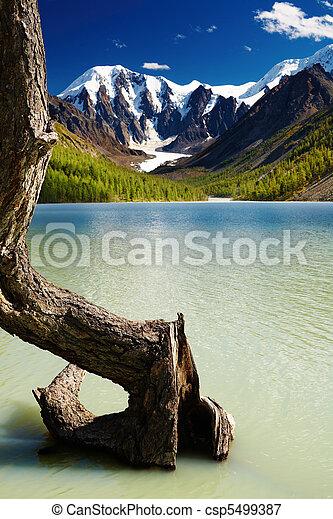 Mountain lake - csp5499387