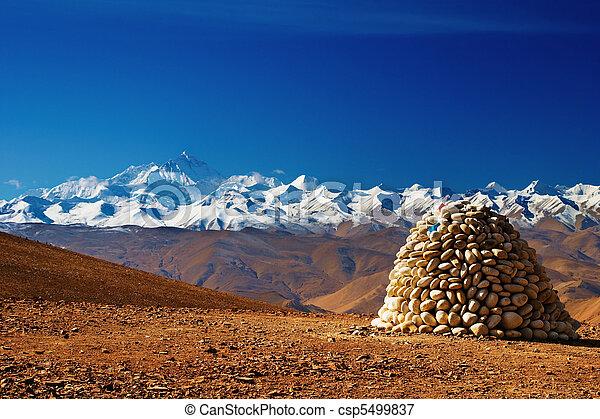Mount Everest - csp5499837