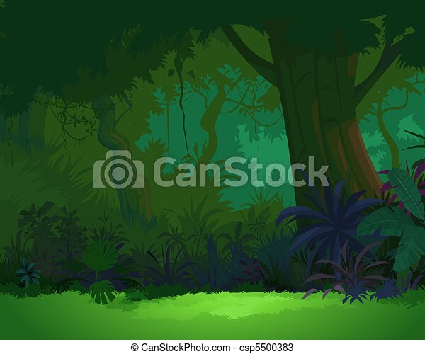Artistic view of Jungle 3 - csp5500383