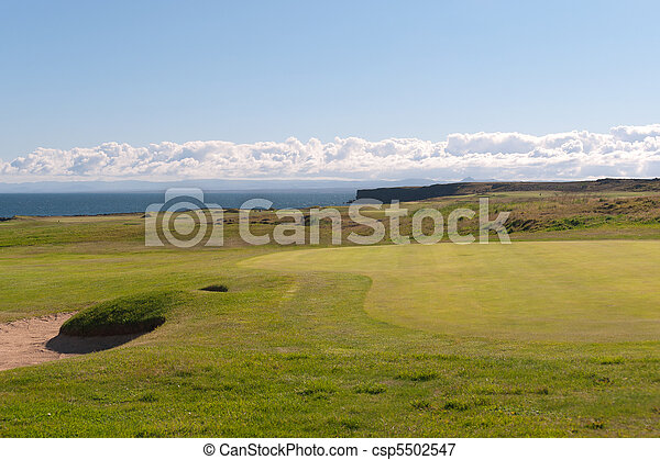 Golf Course - csp5502547