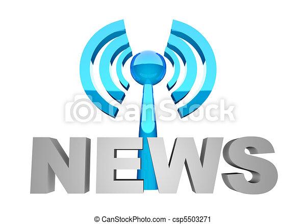 News broadcast - csp5503271
