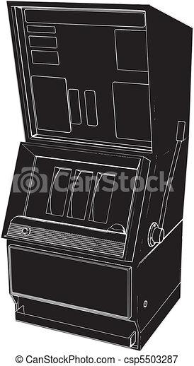 Jackpot Casino Slot Machine - csp5503287