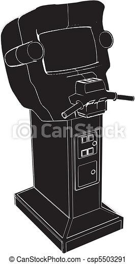 Racer Game Machine - csp5503291