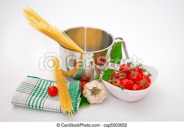 Italian cuisine - csp5503652