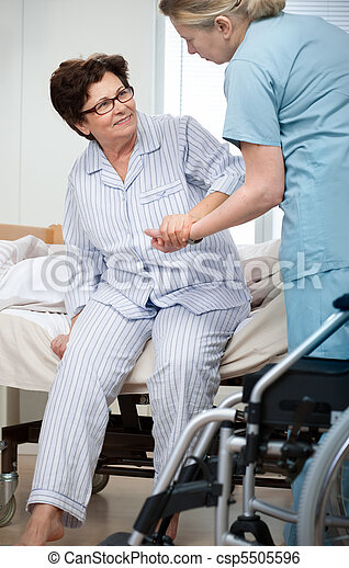 看護 - csp5505596