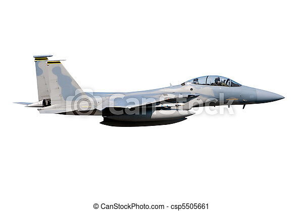 F-15 jet isolated - csp5505661