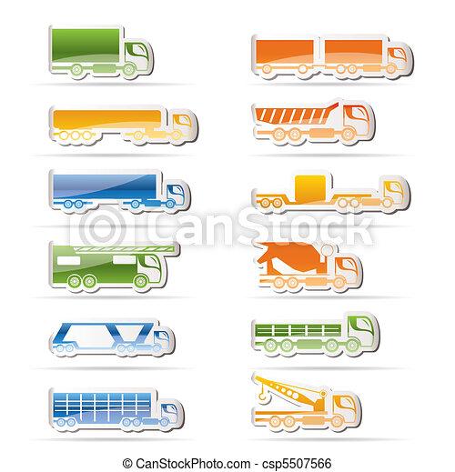 different types of trucks - csp5507566