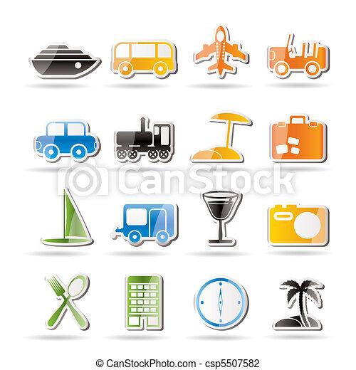Travel, transportation, tourism  - csp5507582