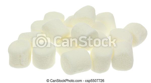 White Marshmallows - csp5507726