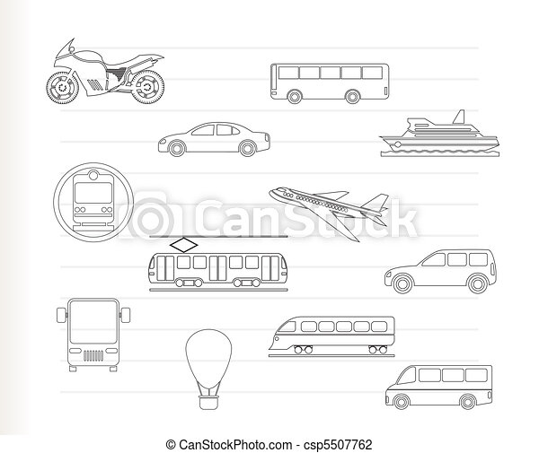 Travel and transportation of people - csp5507762