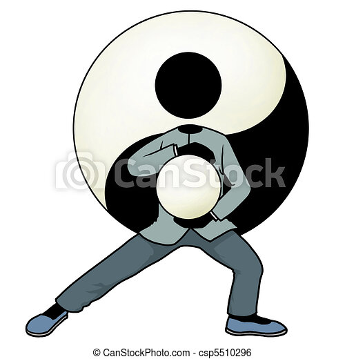 Tai chi yin and yang - csp5510296