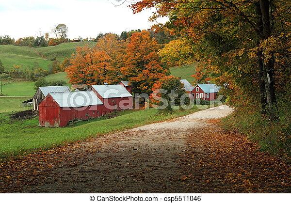 Jenny Farm - csp5511046