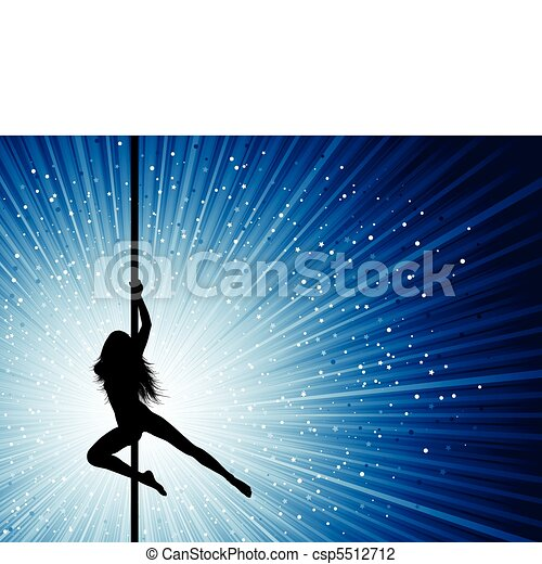 pole dancer  - csp5512712
