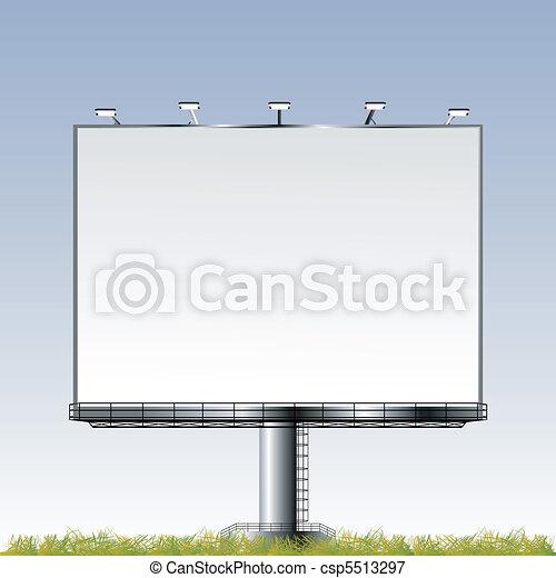 Grand outdoor billboard - csp5513297