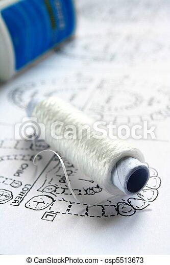 Dental floss - csp5513673
