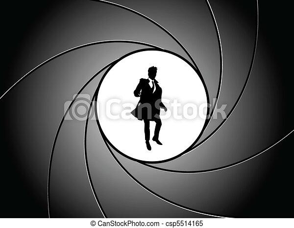 At gun point - csp5514165
