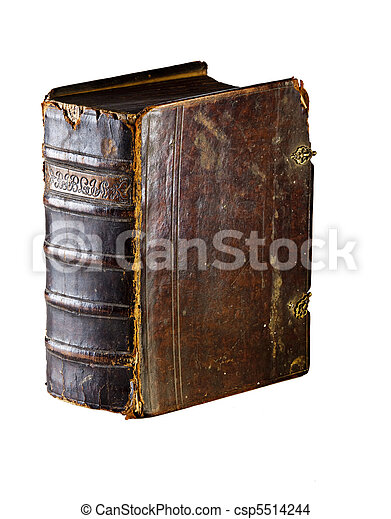 Old bible - csp5514244