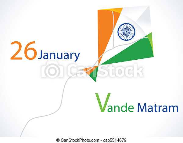 abstract republic day wallpaper  - csp5514679