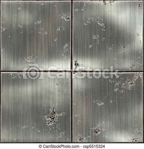 Texture of metal - csp5515324