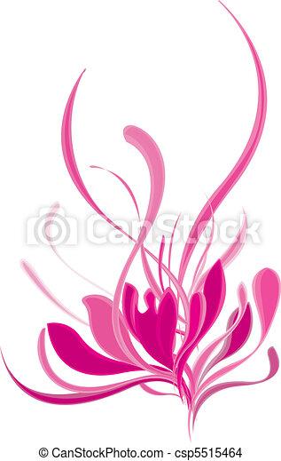 Beautiful blooming pink lotus - csp5515464