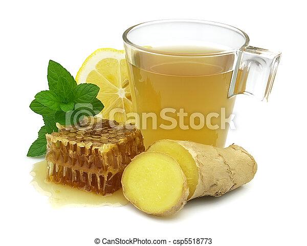 Ingefära citron honung