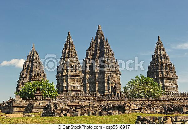 Prambanan temple, Java, Indonesia - csp5518917