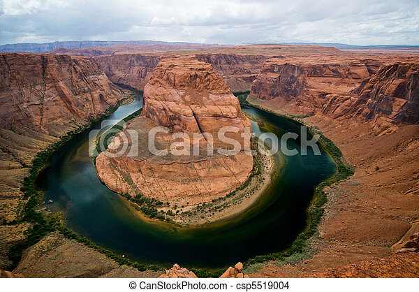 Horseshoe bend, Colorado River, Arizona - csp5519004