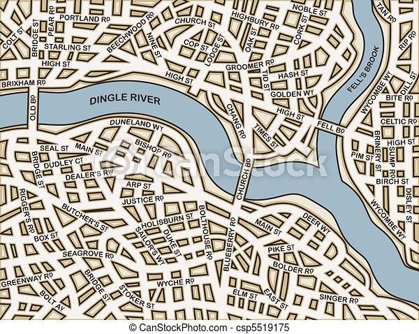 Generic streets - csp5519175