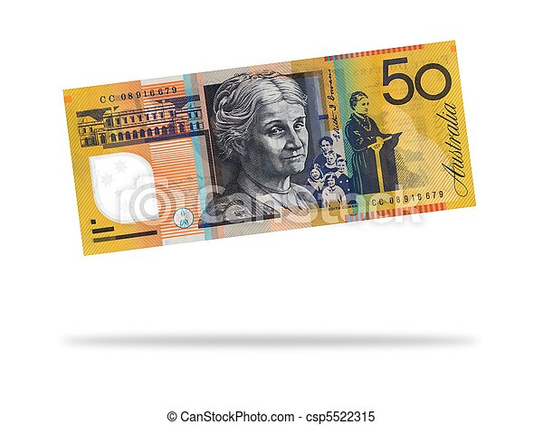 Australian Fifty Dollar Note - csp5522315