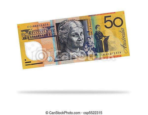 Australian Fifty Dollar Note - csp5522315