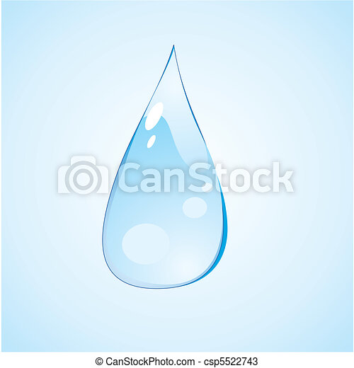 waterdrops and droplet              - csp5522743