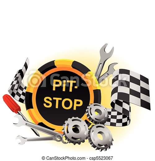 pit-stop - csp5523067