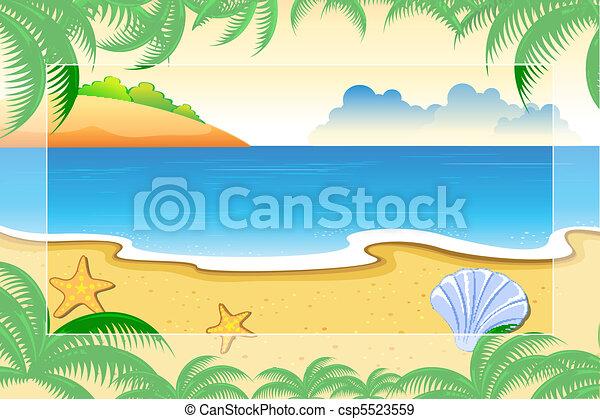 Sea View - csp5523559