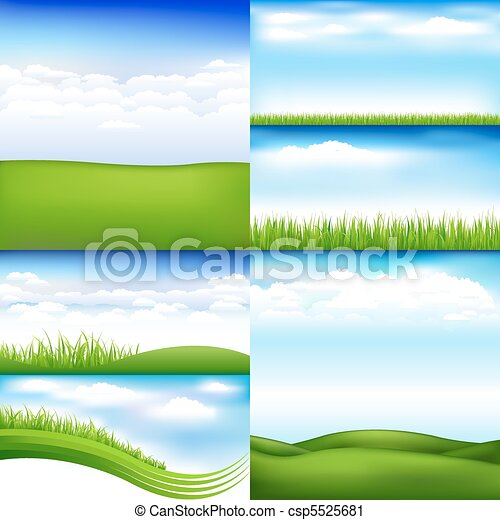 Landscapes - csp5525681