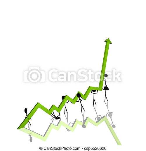 Stick Figures Chart - csp5526626