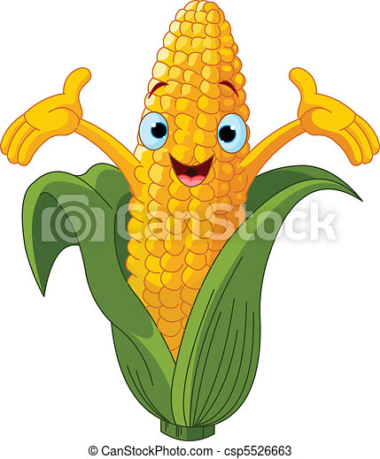 Corn  Presenting Somethin%u043F - csp5526663