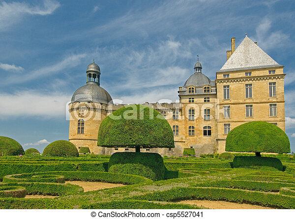 Chateau Hautefort, Dordogne, France - csp5527041