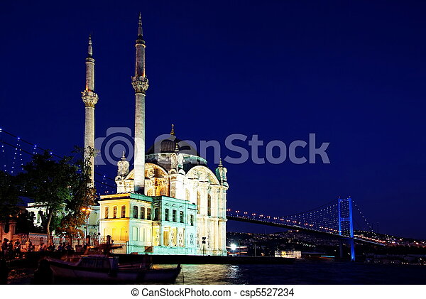 Night at Ortakoy - csp5527234