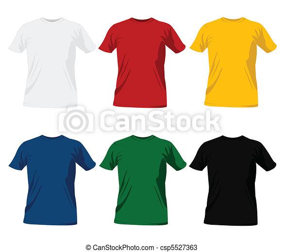 T-shirt templates - csp5527363