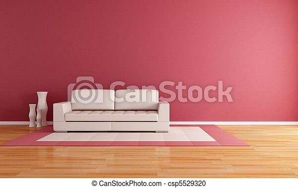 minimalist living room - csp5529320