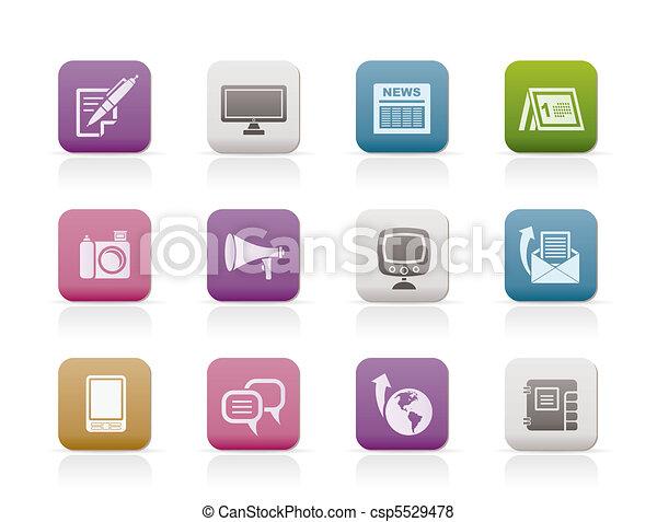 Communication channels  - csp5529478