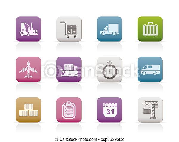 logistics, shipping, transportation - csp5529582
