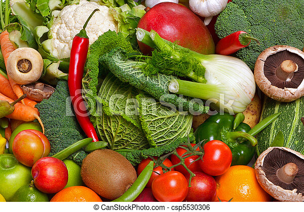 Fruit and vegetables  - csp5530306