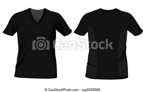 T-shirt design templates  - csp5530666