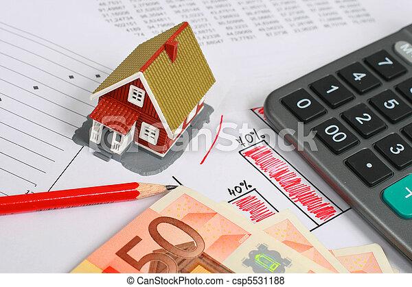 Real estate concept. - csp5531188