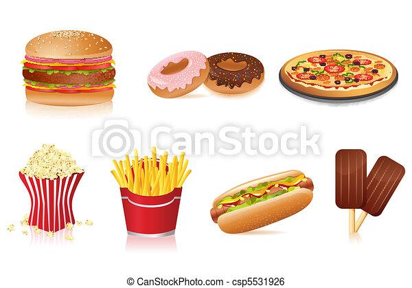 Fast Food - csp5531926