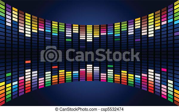 Sound waveform - csp5532474